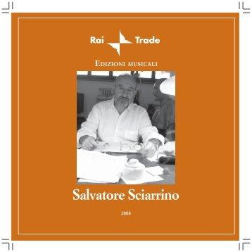 Salvatore Sciarrino - Rai Trade