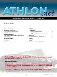 Athlon Net giugno 2009 - Fijlkam