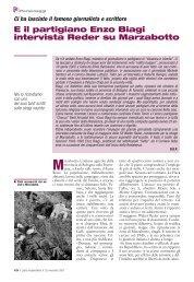 E il partigiano Enzo Biagi intervista Reder su Marzabotto - Anpi