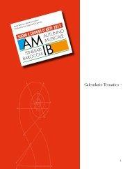 La brochure in PDF - Suoni & Luoghi d'Arte 2012