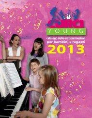 catalogo delle edizioni musicali per bambini e ragazzi - Curci Libri