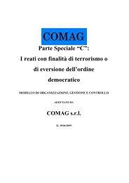 """Parte Speciale """"C"""": I reati con finalità di terrorismo o di eversione ..."""