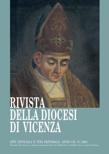 Rivista della Diocesi 2011 - N. 1 - Webdiocesi