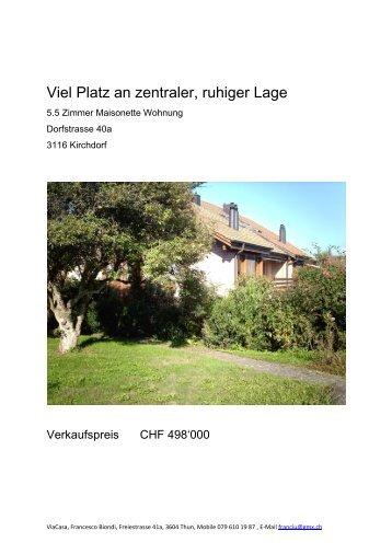Viel Platz an zentraler, ruhiger Lage - Seven49.net GmbH