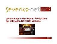seven49_CaseStudy_Krokus.pdf - Seven49.net GmbH