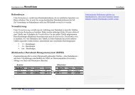 Redundanzen Normalisierung (Relationales) Datenbank ...