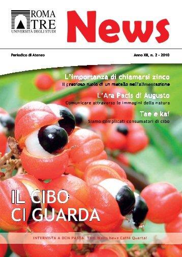 2 - 2010 - Servizio di hosting - Università degli Studi Roma Tre