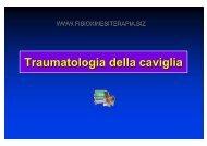 Traumatologia della caviglia - Fisiokinesiterapia.biz