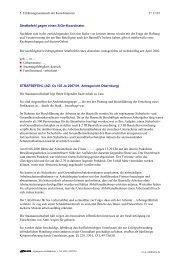 Strafbefehl gegen einen SiGeKo - Sidi Blume