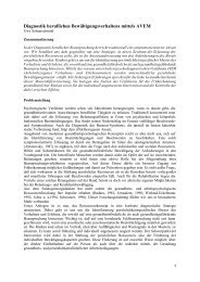 Persönliche Bewältigungsstrategien im Umgang mit ... - Sidi Blume