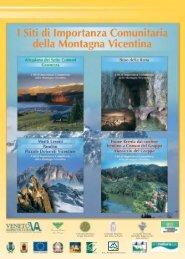 I Siti di Importanza Comunitaria della Montagna Vicentina - Veneto ...