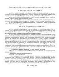 Estatutos da Companhia de Conservas Rio-Grandense (successora ...