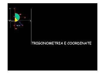 topografia 1 trigonometria e coordinate