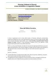 Principe Umberto di Savoia Liceo Scientifico e Linguistico Statale