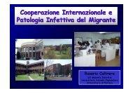 Cooperazione internazionale e patologia infettiva del migrante ...