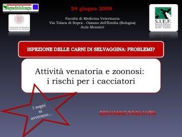 Attività venatoria e zoonosi: i rischi per i cacciatori - Società Italiana ...