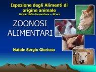 3-ZOONOSI alimentar - Corso di laurea in tecniche della ...