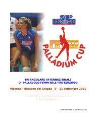 TRIANGOLARE INTERNAZIONALE DI ... - SporTrentino.it