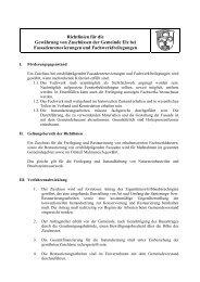 Richtlinien Zuschuss Fassadenrenovierung - Elz