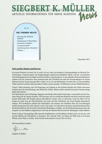 Ausgabe Nr.34, 2011 - Siegbert K. Müller