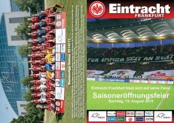 Flyer Saisoneröffnung 2010 Final:layout 1 - Eintracht Frankfurt