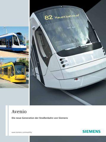 Datenblatt Avenio - Siemens Schweiz AG
