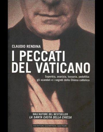 Claudio Rendina – I Peccati del Vaticano