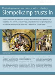 Siempelkamp trusts in trainees with insight