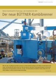 Der neue BÜTTNER-Kombibrenner - Siempelkamp