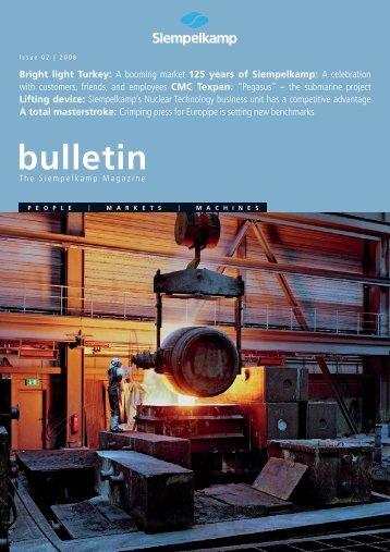 bulletin - Siempelkamp