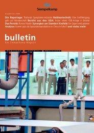 Bulletin 2/ 2004 - Siempelkamp