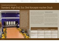 Standard, High-End, Eco: Drei Konzepte machen ... - Siempelkamp