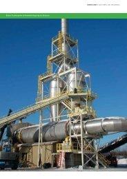 Büttners Biomasse-Trocknersystem - Siempelkamp