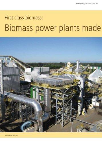 First class biomass - Siempelkamp
