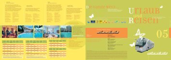Unser Reiseprogramm - Siencniktrans