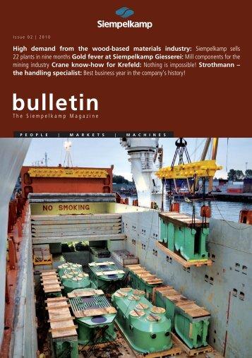 Bulletin 2/2010 - Siempelkamp NIS