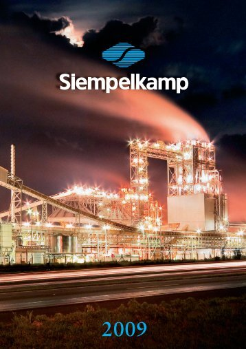 Annual report 2009 - Siempelkamp