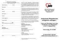 Ambulante Pflegedienste erfolgreich managen – Ideen und ...