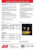 MINI TORREFATTRICE - STA Impianti S.r.l. - Page 2
