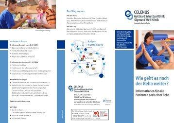 Info-Flyer - Gotthard-Schettler-Klinik