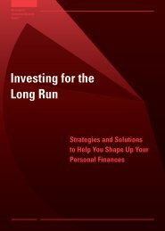 Investing for the Long Run