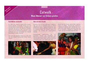Catwalk - Event Marketing Agentur am Starnberger See mit dem