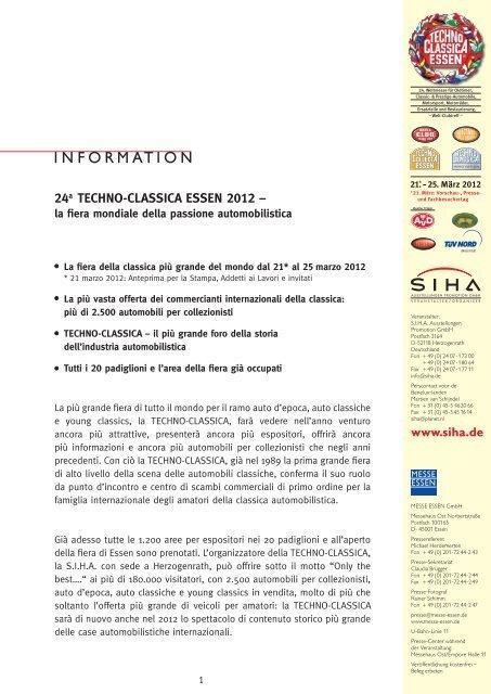 24a TECHNO-CLASSICA ESSEN 2012 – - SIHA