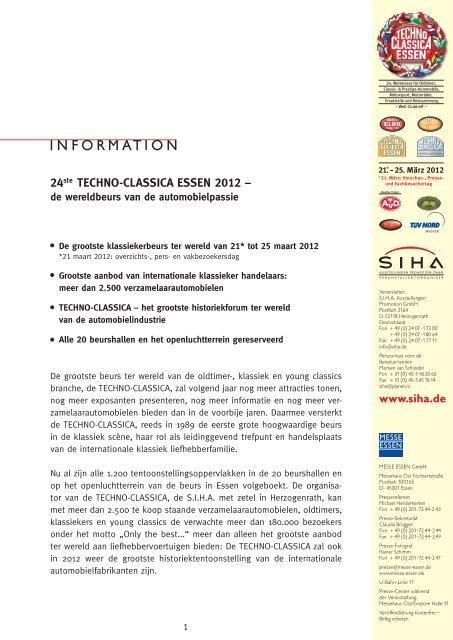 24ste TECHNO-CLASSICA ESSEN 2012 – - SIHA