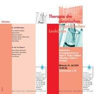 Therapie der chronischen lymphatischen Leukämie