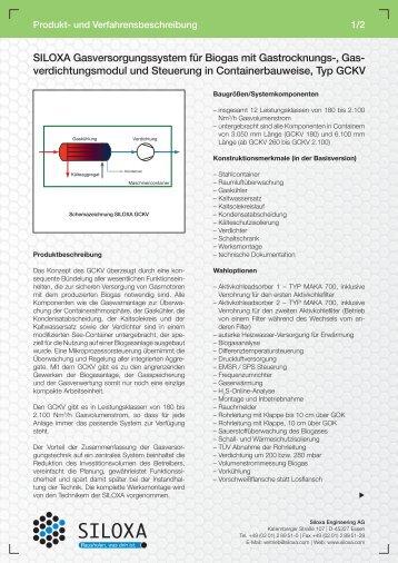 verdichtungsmodul und Steuerung in Containerbauweise ... - Siloxa