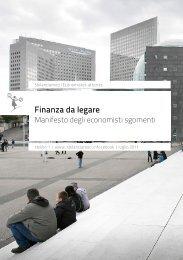 Finanza da legare - Aniarti