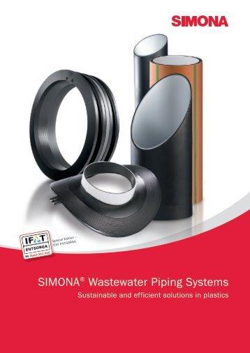 SIMONA® Wastewater Piping Systems - Simona AG