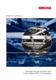 Épuration des gaz de fumée avec tubes SIMONA®PP ... - Simona AG