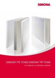 SIMONA®PE FOAM/SIMONA®PP FOAM - Simona AG
